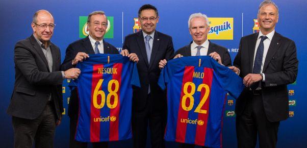 NESTLÉ MILO VÀ CÂU LẠC BỘ FC BARCELONA CAM KẾT VÌ MỘT CUỘC SỐNG KHỎE MẠNH HƠN